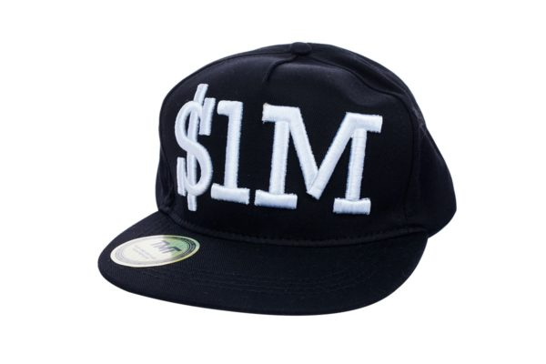 cappello tmt one million dollar visiera piatta